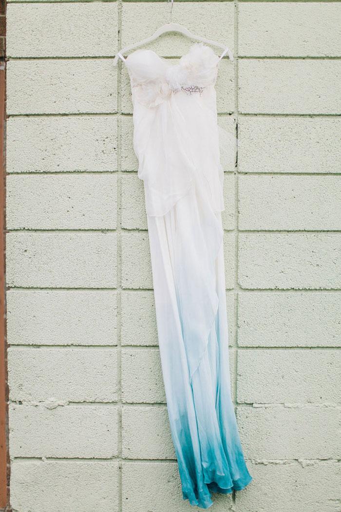 Little mermaid themed wedding for your inner disney geek for Disney mermaid wedding dress