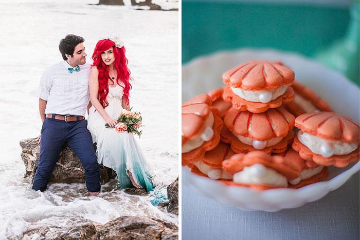 Little Mermaid-Themed Wedding For Your Inner Disney Geek