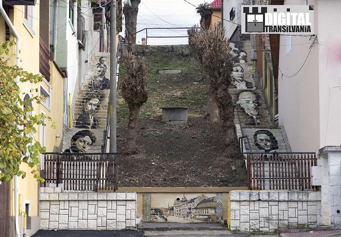 Digital Transilvania By Cantemir C.- Art Stairs , Tg.mures , Romania