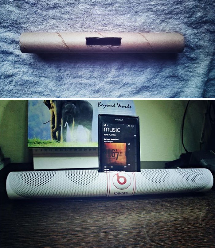 I Made Beats Pill Speaker Out Of Household Objects, Saved Me $245
