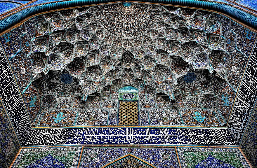 Mezquita Allah Lutf Sheikh, Isfahán, Irán