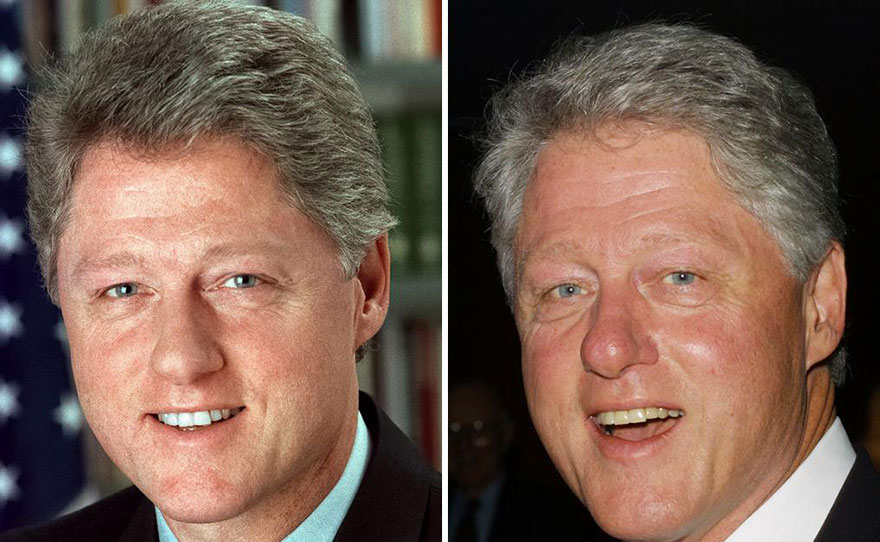 How did Ronald Reagan influence Bill Clinton?