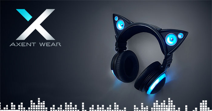 Cat Ear Headphones By Axent Wear