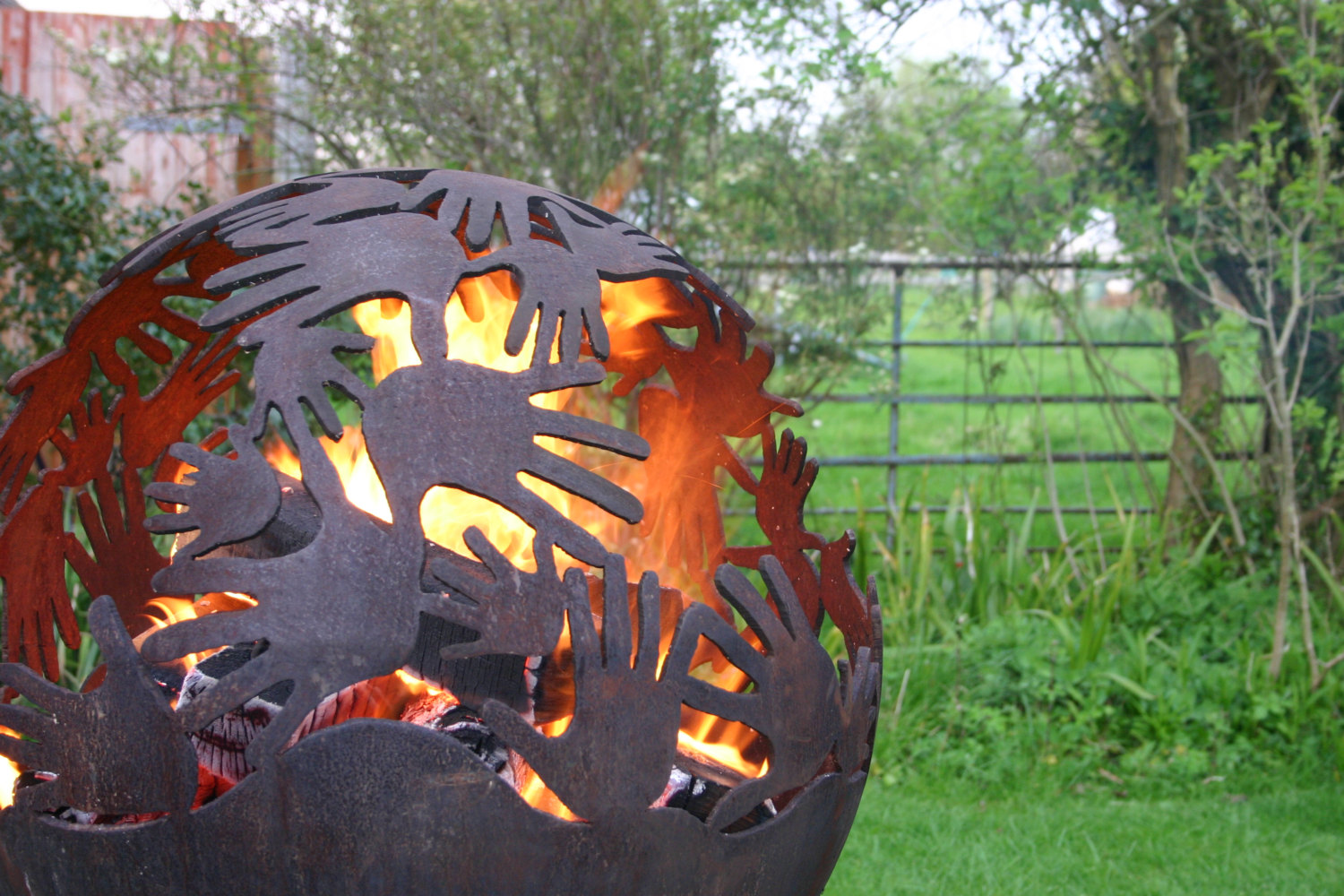 Burning Hands Fire Pit
