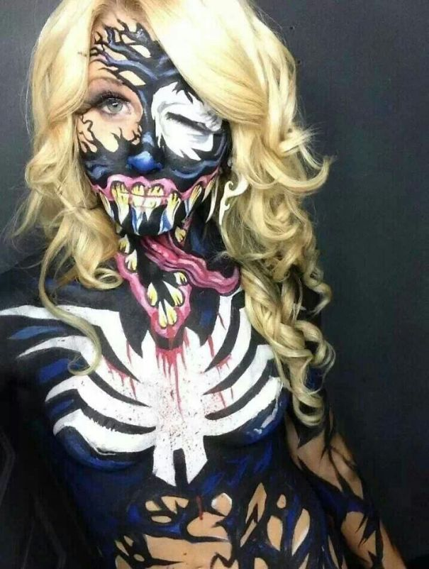 Venom Body Paint