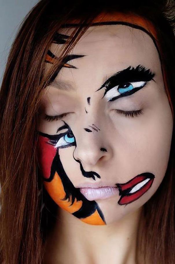 Disturbing Face