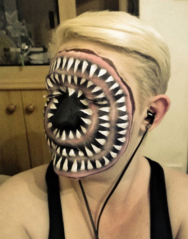 Face Paint For Halloween Design
