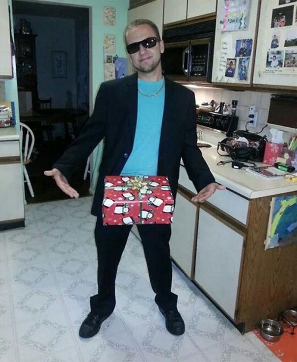 Dick In A Box!