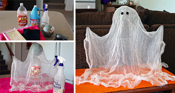 Cheesecloth Standing Ghost