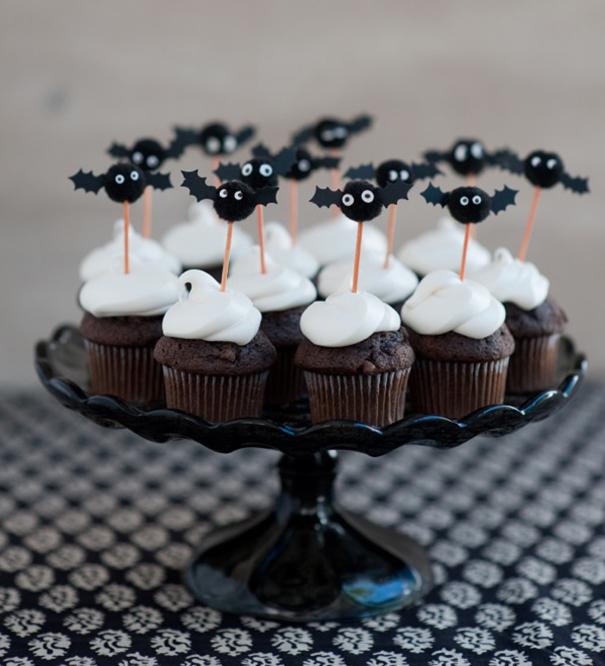 Mini Bat Cupcake Toppers