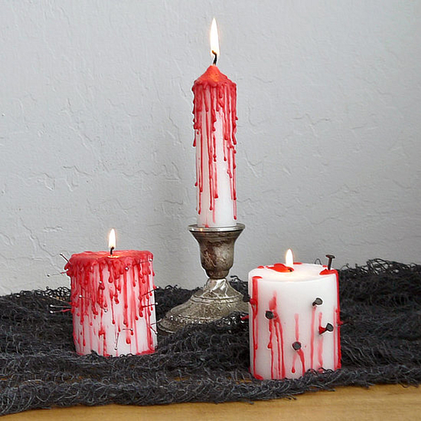 Blood-dripping Candles