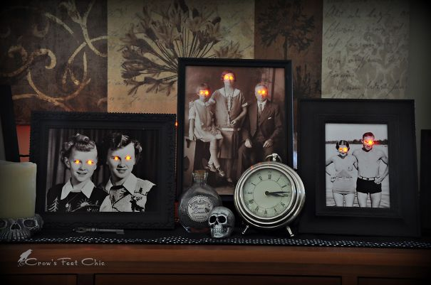 Paranormal Photo Display