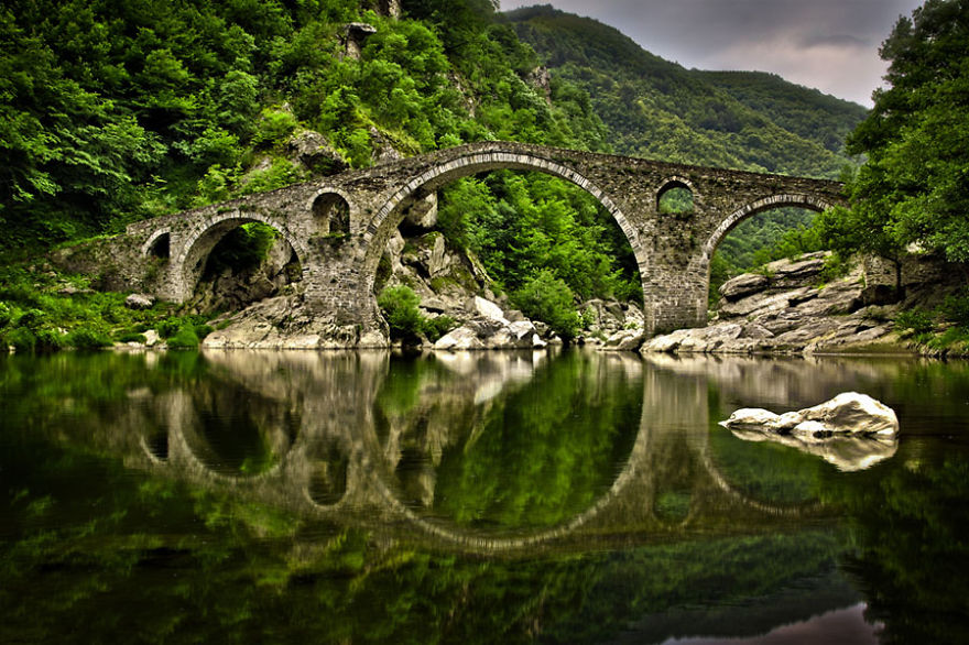The Devil's Bridge, Rhodopi Mountain, Bulgaria