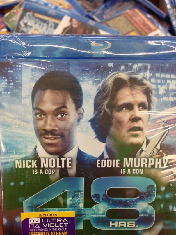 Eddie Murphy and Nick Nolte