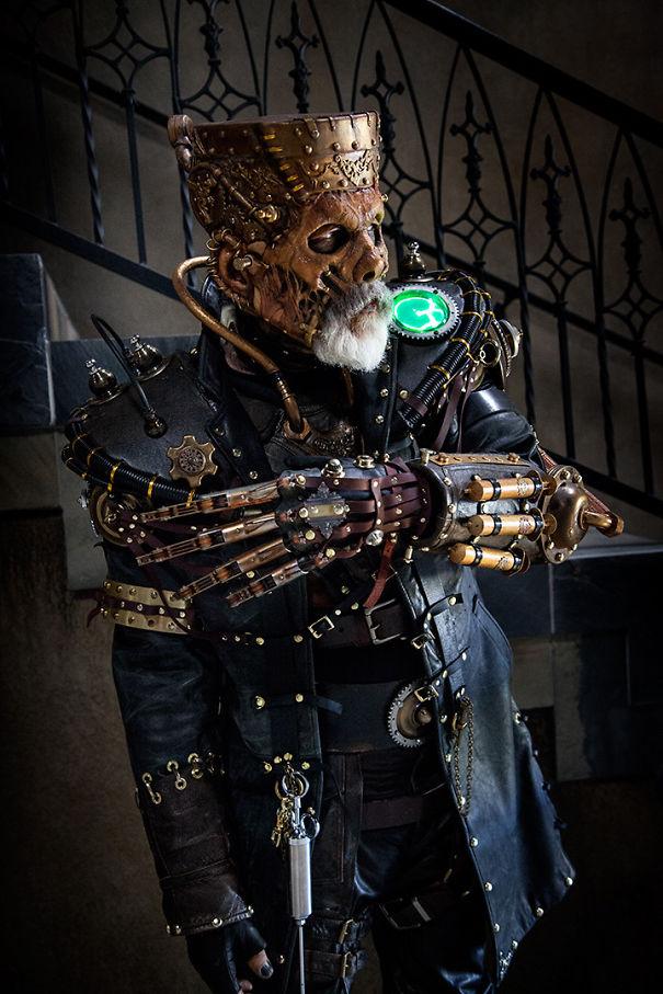 Steampunk Frankenstein