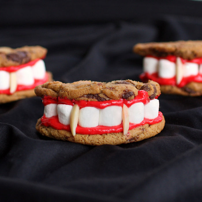 Dracula's Teeth Cookies