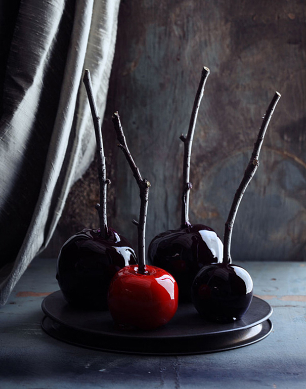 Poisonous Dipped Apples