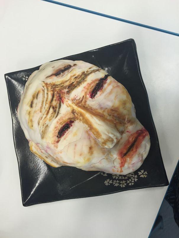 """Hannibal Lecter """"tribute"""" Cake"""