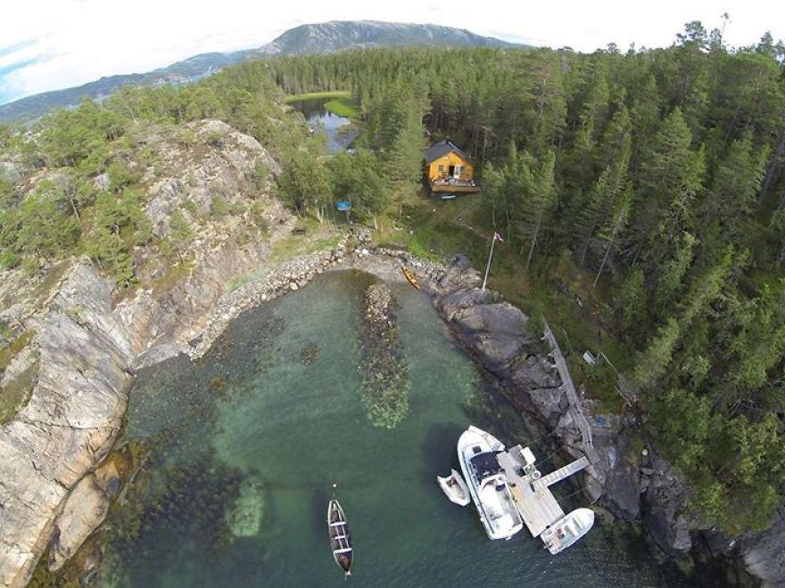Opløfjorden Norway