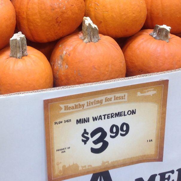 Pumpkin Spice Watermelon