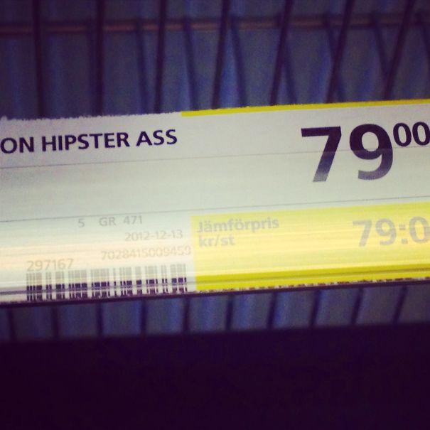 On Yo Hipster Ass!