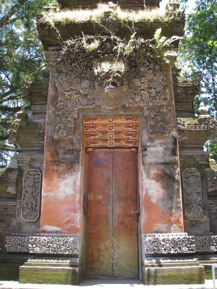 Tropical Ruin Door, Bali