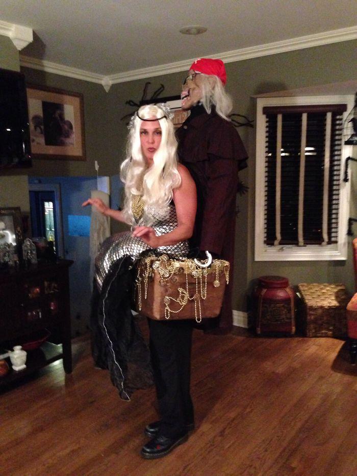 Mermaid And Her Pirate Boyfriend We Called Fred