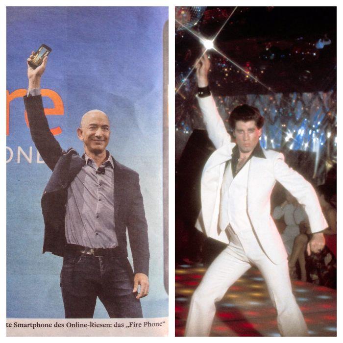 Saturday Night Amazon: Jeff Bezos Vs. John Travolta