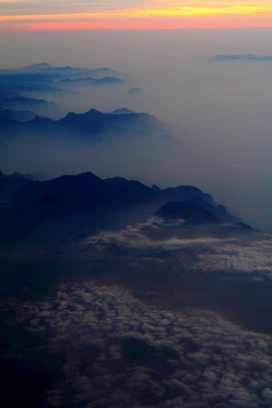 Foggy Himalaya