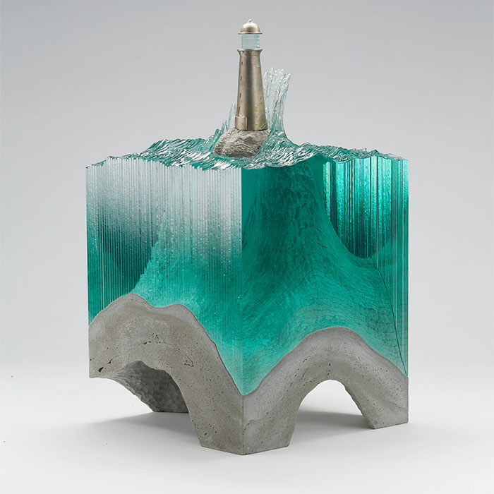 The Beauty Of The Sea In New Layered Glass Sculptures By Ben Young