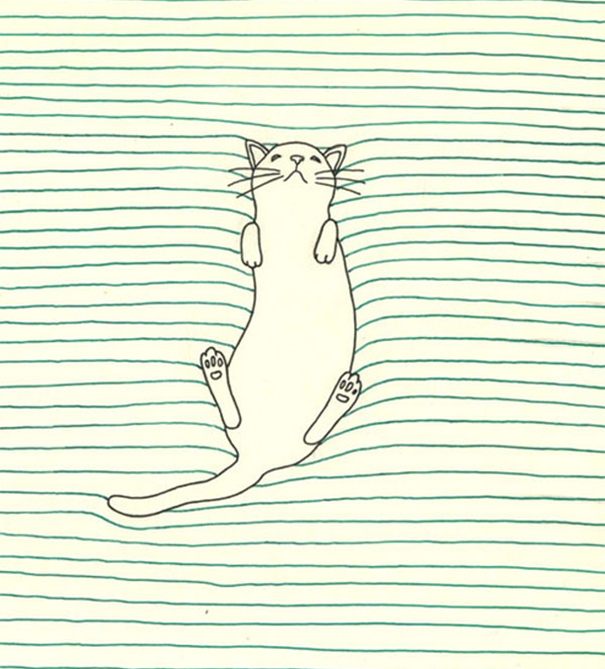 D Lined Paper Drawings : Creative doodles that don t stay within the lines bored