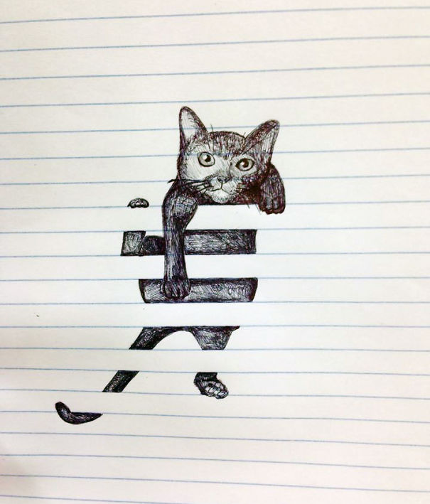 Creative Doodles That Don't Stay Within The Lines | Bored ...