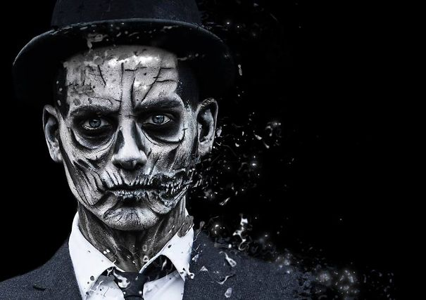 My Winning Make-up For The Mac Rick Baker Contest :-)