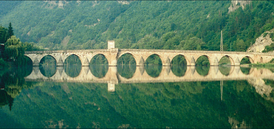 Bridge On River Drina, Bosnia And Herzegovina