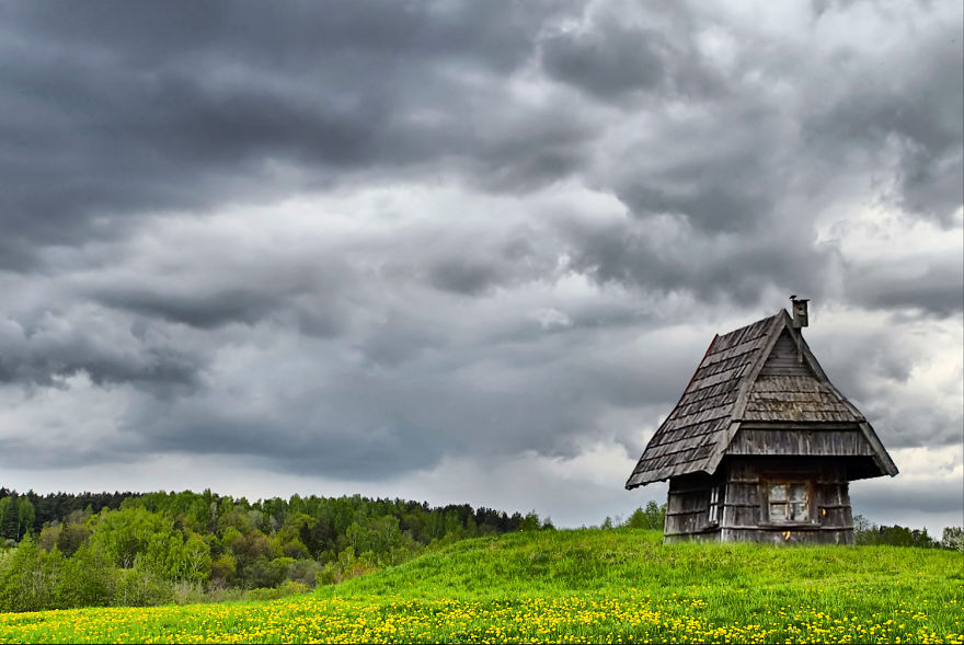 A Tiny House In The Meadow, Lithuania
