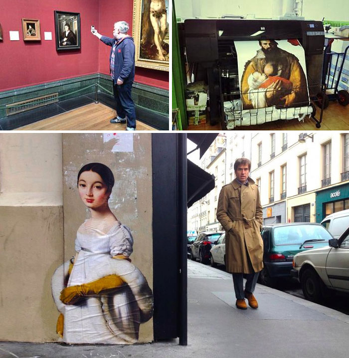Outings Project: Let's Move Museum Art To The Streets