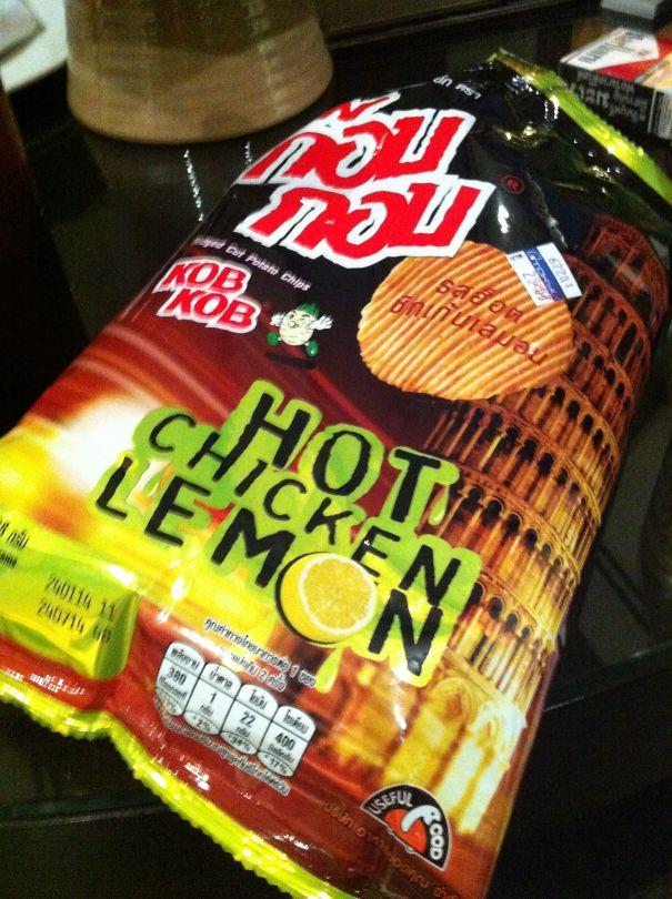 Spicy Chicken Lemon In Thailand
