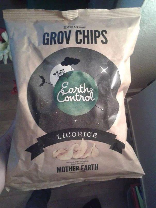 Licorice Exstra Crispy Chips