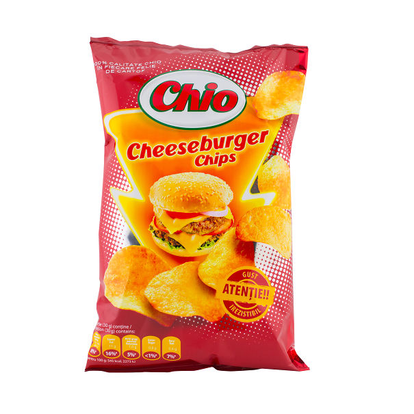 Cheeseburger Chips (romania)