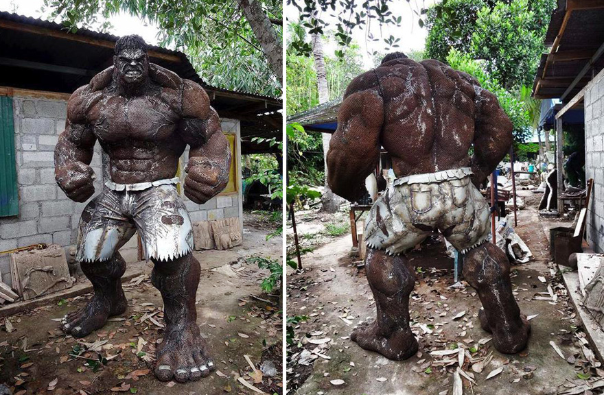 scrap-metal-sculptures-hulk-ban-hun-lek-1