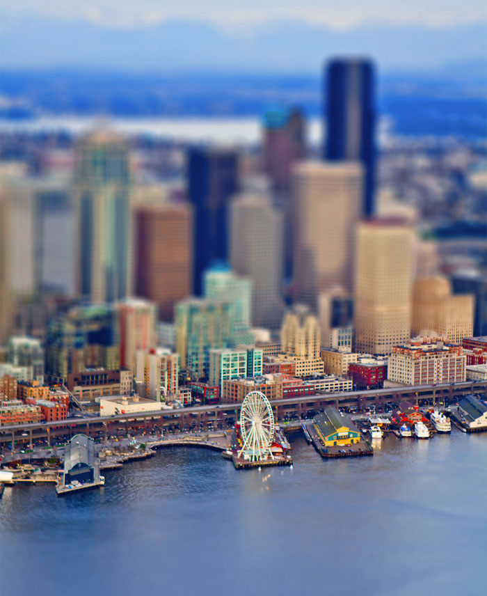 Tiny Seattle: I Photographed Pacific Northwest From A Seaplane