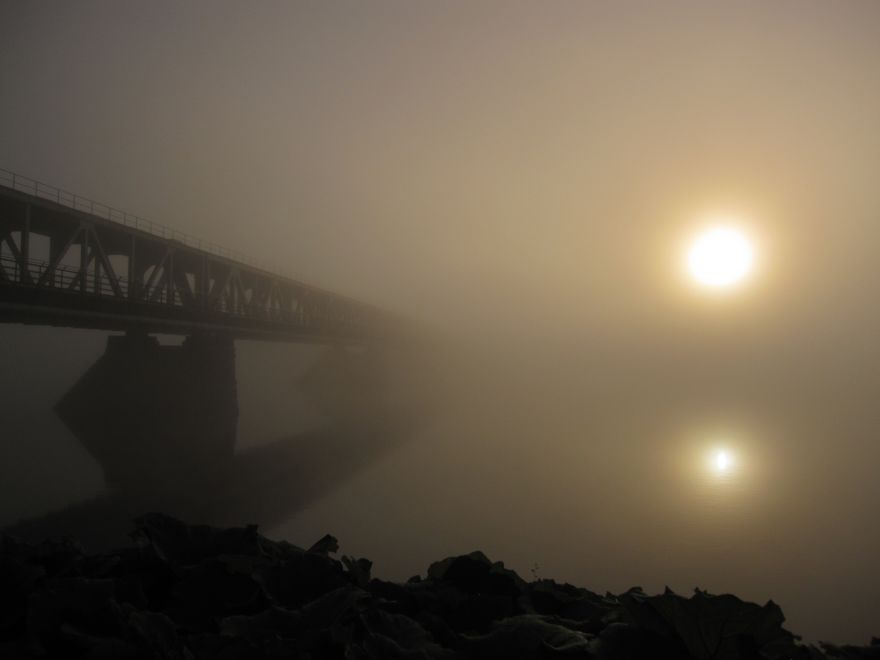 Railway Bridge, Rovaniemi, Finland
