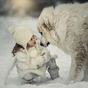 Little Girl, Big Dog