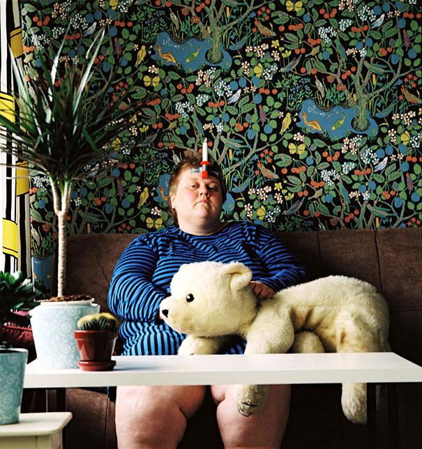 Controversial Self Portraits By Finnish Photographer Iiu Susiraja