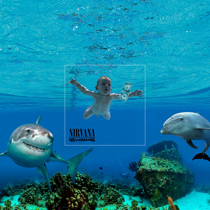 Bigger Picture: Famous Album Covers Extended To Reveal Background Action
