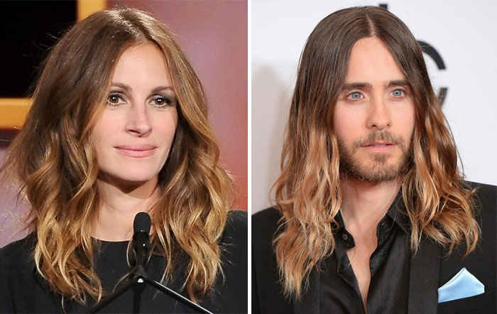 Julia Robers And Jared Leto