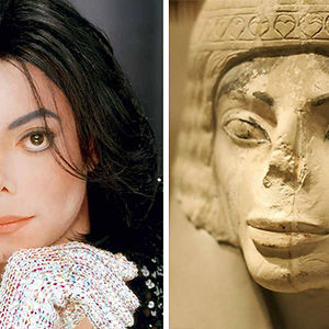 Michael Jackson Looks Like This Egyptian Statue