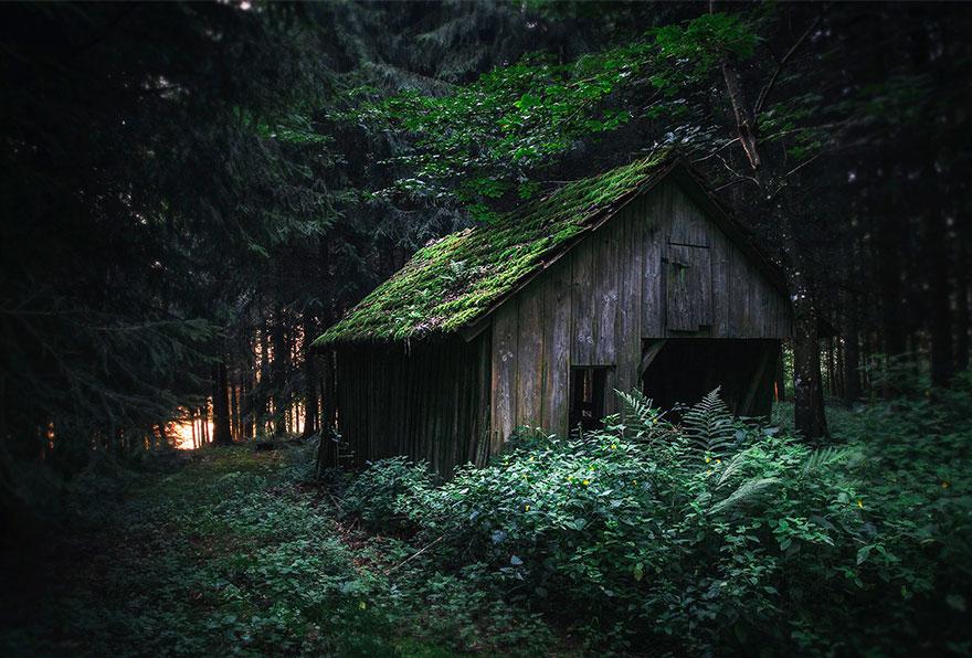 Hidden Place, Swabian Alps, Germany