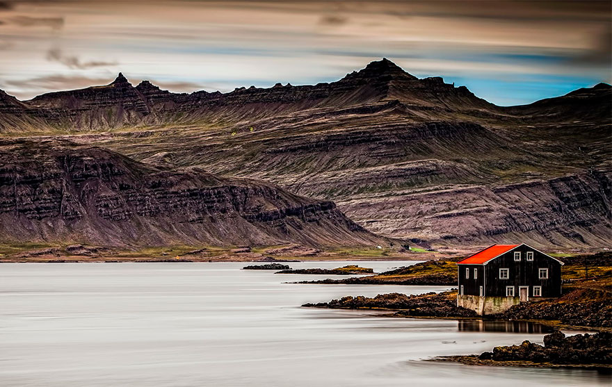 House On The Lake, Iceland