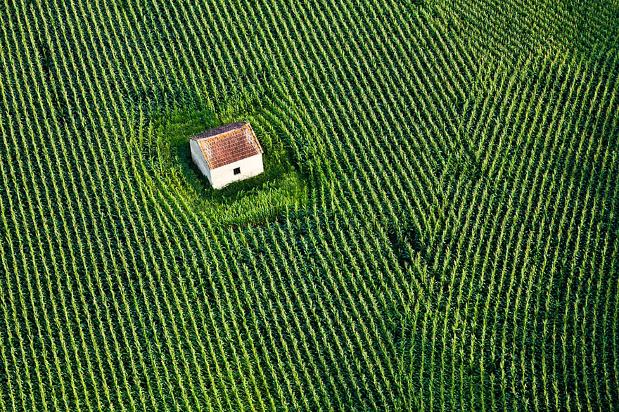 House In The Fields, France